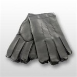 Pull-On Black Acrylic Gloves with Liner
