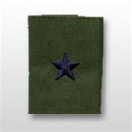 USAF Officer GoreTex Jacket Tab:  O-7 Brigadier General (Brig Gen)- Embroidered - For BDU - 1 Star