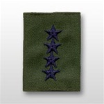 USAF Officer GoreTex Jacket Tab:  O-10 General (Gen) - Embroidered - For BDU - 4 Star