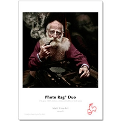 Hahnemuhle Photo Rag Duo double sided paper