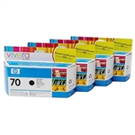 HP No 70 Original Vivera Ink Cartridges