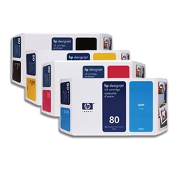 HP 80 Ink Cartridges