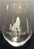 Howling Wolf Stemless Wine Glass