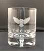 Owl On The Rocks Glass