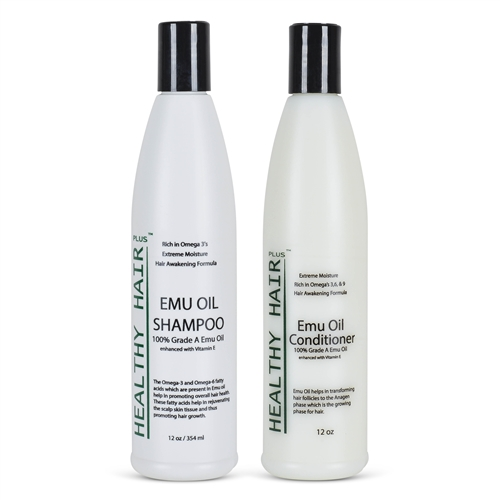 emu shampoo and conditioner moisture for dry hair scalp