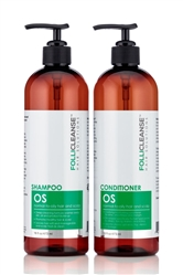 Follicleanse OS Shampoo & Conditioner 16 oz