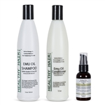 Emu Oil Hair Kit
