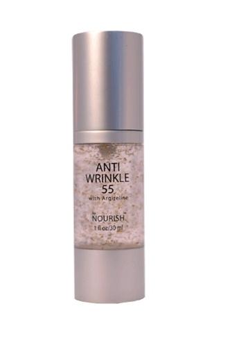 Anti Wrinkle 55 wrinkle serum removes, smoothes wrinkles