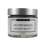 Oily Skin Care Mask reduces oil and unclogs clogged pores for healthy complexion!