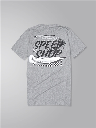 Speed Shop Triblend Tee - Grey