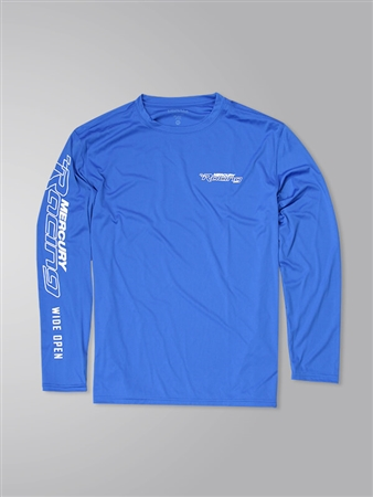 Offshore LS Performance Tee - Royal
