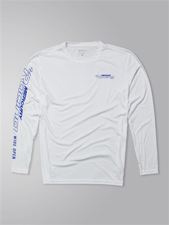 Offshore LS Protector Tee - White