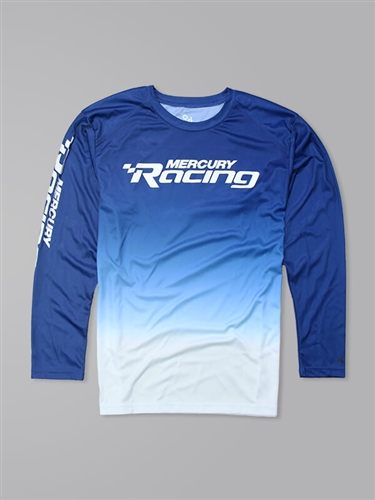 Ombre LS Performance Tee - Royal