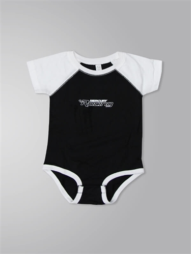 Infant Bodysuit Onesie - Black / White