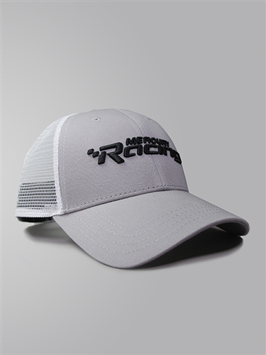 Mark Cap - Steel Grey | White