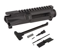 AR-15 Upper Receiver Kit 7075-T6 Forged - Made in U.S.A. - Incl. Ejection Port Kit, Forward Assist, & Charging Handle (Unassembled)