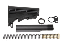 223/5.56 6-Position Carbine length buffer tube Mil Spec Stock Kit AR15