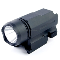 Quick Release Tactical 180 Lumen Led Powered Pistol Flashlight Light