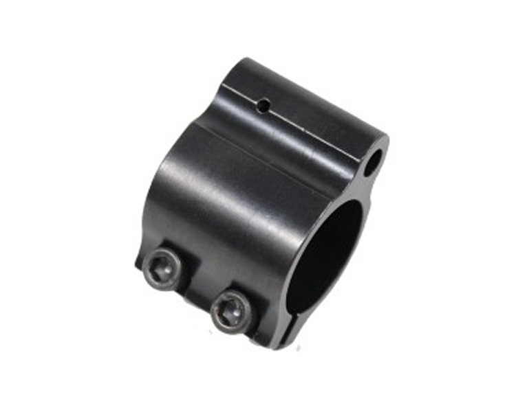 Low Profile Micro Clamp-on STEEL Gas Block -for AR15 223 5 56  75