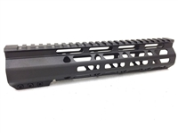 "10"" Super Slim Handguard Free Float MLOK Extra Light AR15 .223 5.56 - CLAMP-ON STYLE"