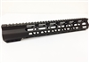 "12.5"" Super Slim Handguard Free Float MLOK Extra Light AR15 .223 5.56 - CLAMP-ON STYLE"