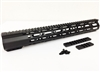 "LR-308 15"" Super Slim Free Float Mlok and Extra Light"
