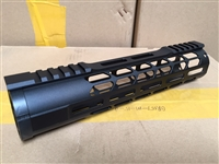 "10"" Mlok Handguard Mid Length Free Float quad rail"