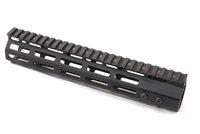 "10"" Super Slim Handguard Free Float 7-Sided MLOK Extra Light AR15 .223 5.56"