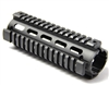 "6.7"" AR Quad Rail Handguard Carbine Length 2 Piece Drop-In Picatinny"