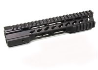 "10"" Super Slim HYBRID Handguard Free Float Extra Light AR15 .223"