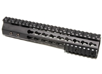 "10"" ULTRA LIGHT SUPER SLIM KeyMod Handguard Free Float quad rail"