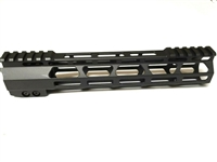 "10"" super slim MLOK free float Handguard w/ anti-rotation tap"