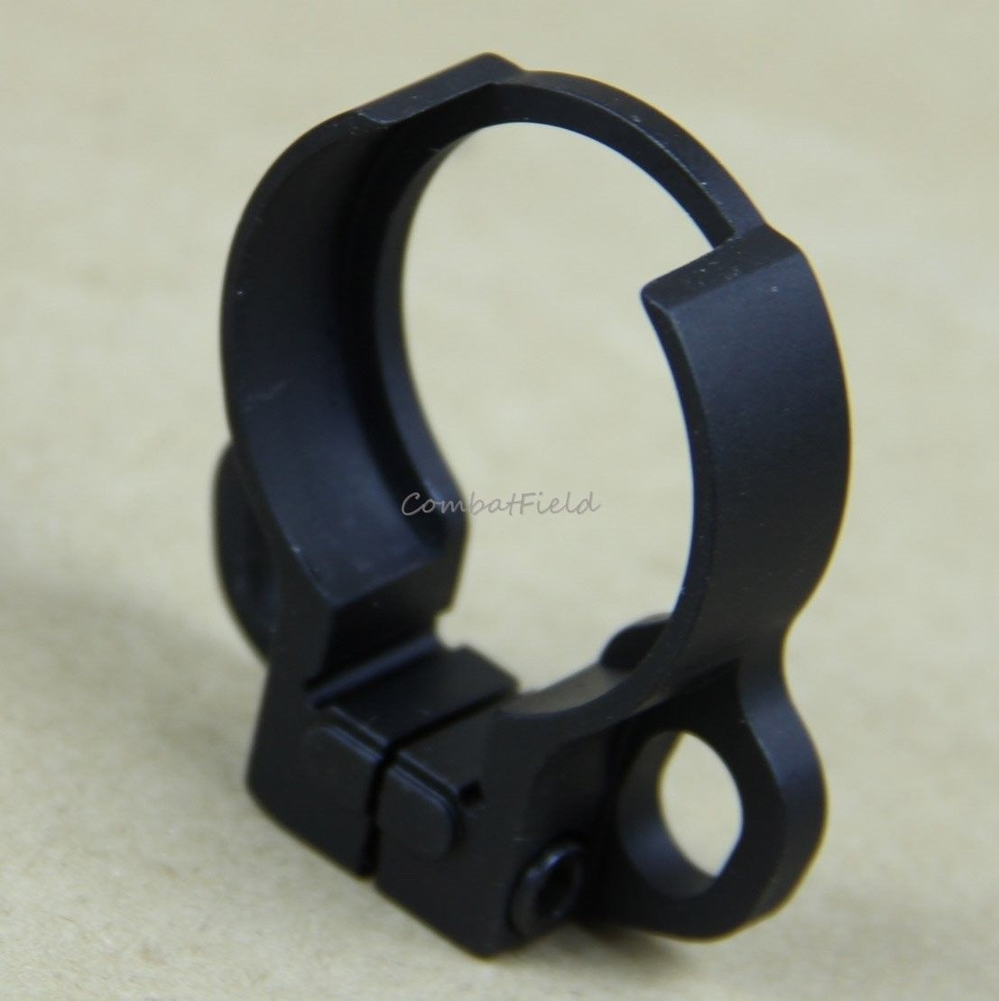 1 one point bungee sling clamp on slip over castle nut adapter