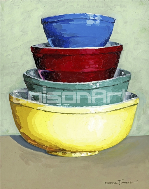 Mama's Mixing Bowls by Cheryl Jowers
