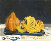Rose Mavis Three Gourds
