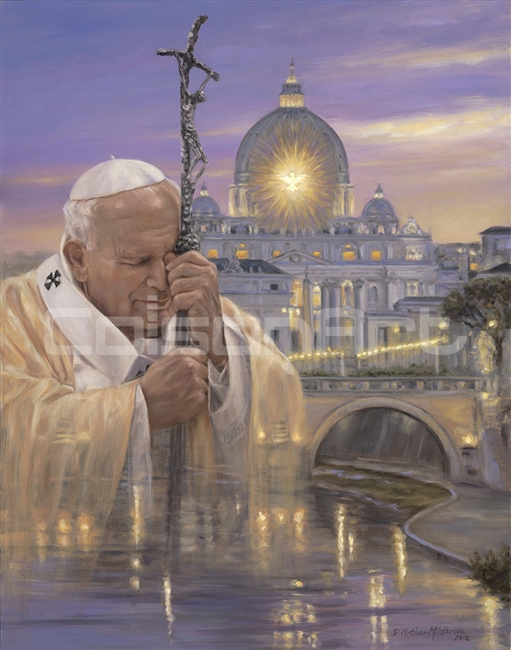 Pope John Paul II by D. Arthur McBride