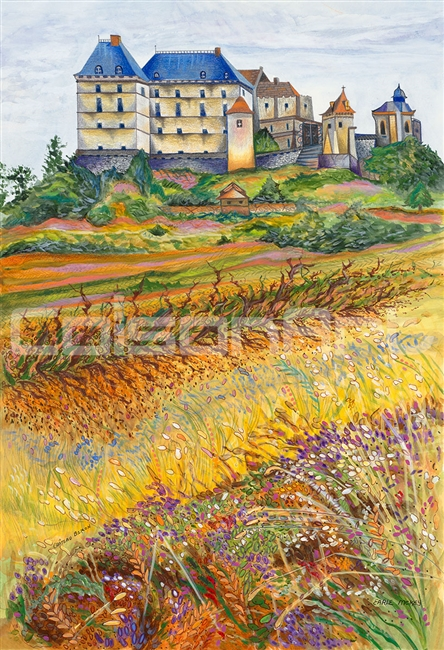 Chateau Biron by Earle McKey