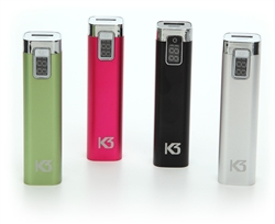 The K3 Power Bar is a 2600 mAh lithium ion rapid usb charger with LED display & battery indicator,K3 portable charger, K3 due charger, K3 power bank, best selling portable charger, K3 waterproof bag, K3 waterproof bags, best selling phone charger