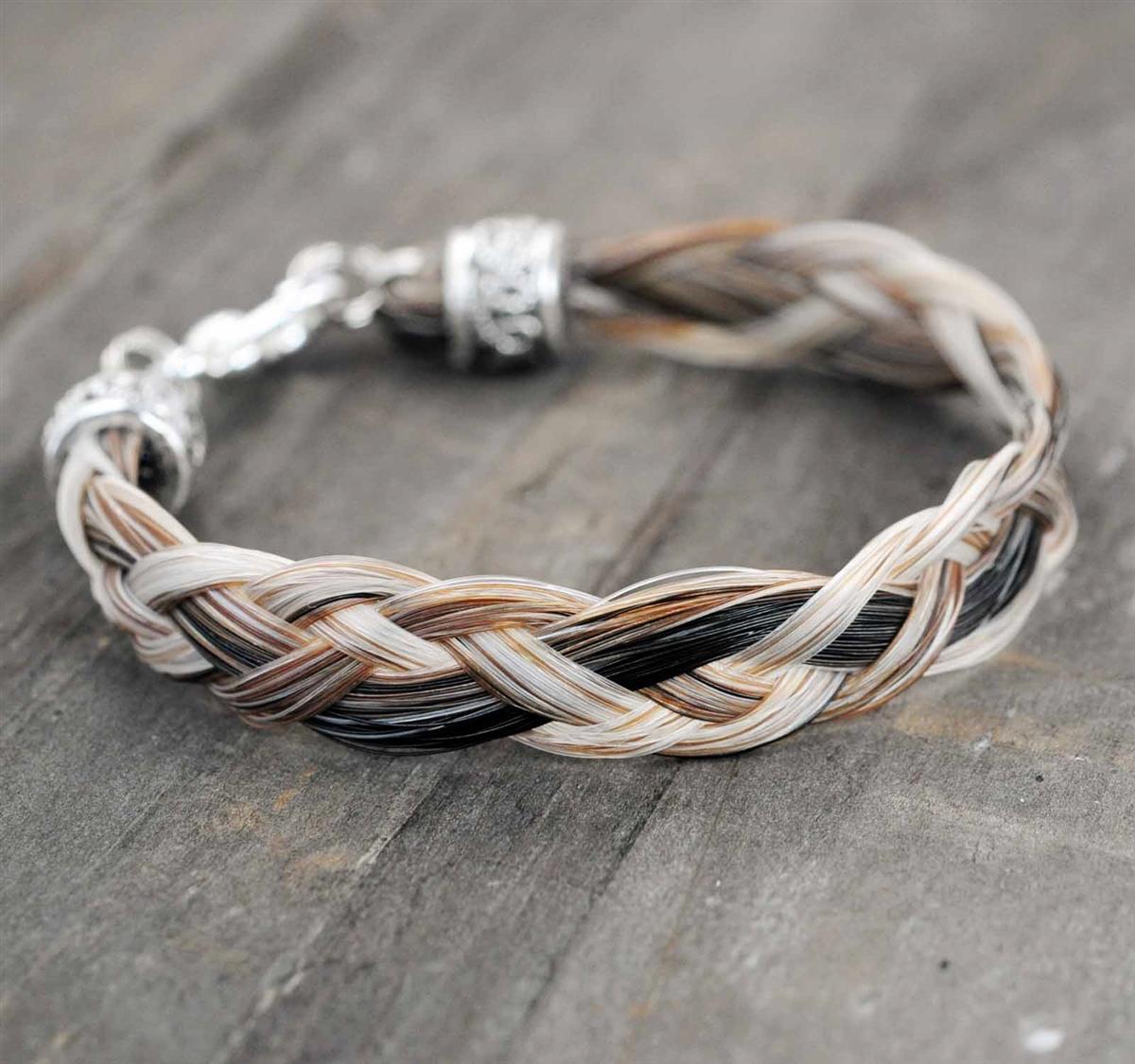 Spirithorse Designs Kael Horse Hair Bracelet Larger Photo Email A Friend