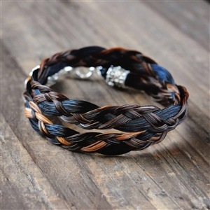 Spirithorse Designs Kael Wrap Horse Hair Bracelet