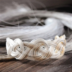 Spirithorse Designs Rhyn Celtic Knot Horse Hair Bracelet