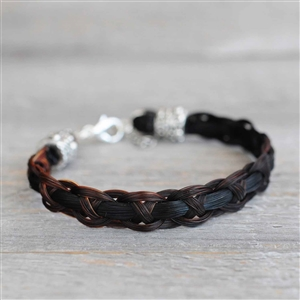 Spirithorse Designs Shadow Horse Hair Bracelet