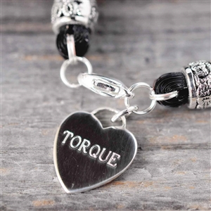 Personalized Sterling Heart Charm