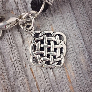 Sterling Silver Eternity Charm