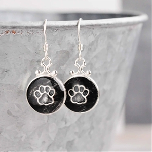 Spirithorse Designs Pet Hair Sterling Earrings