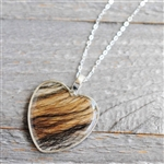 Dog Hair Pendant and Necklace