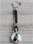 Spirithorse Designs Kira Horse Hair Key Chain