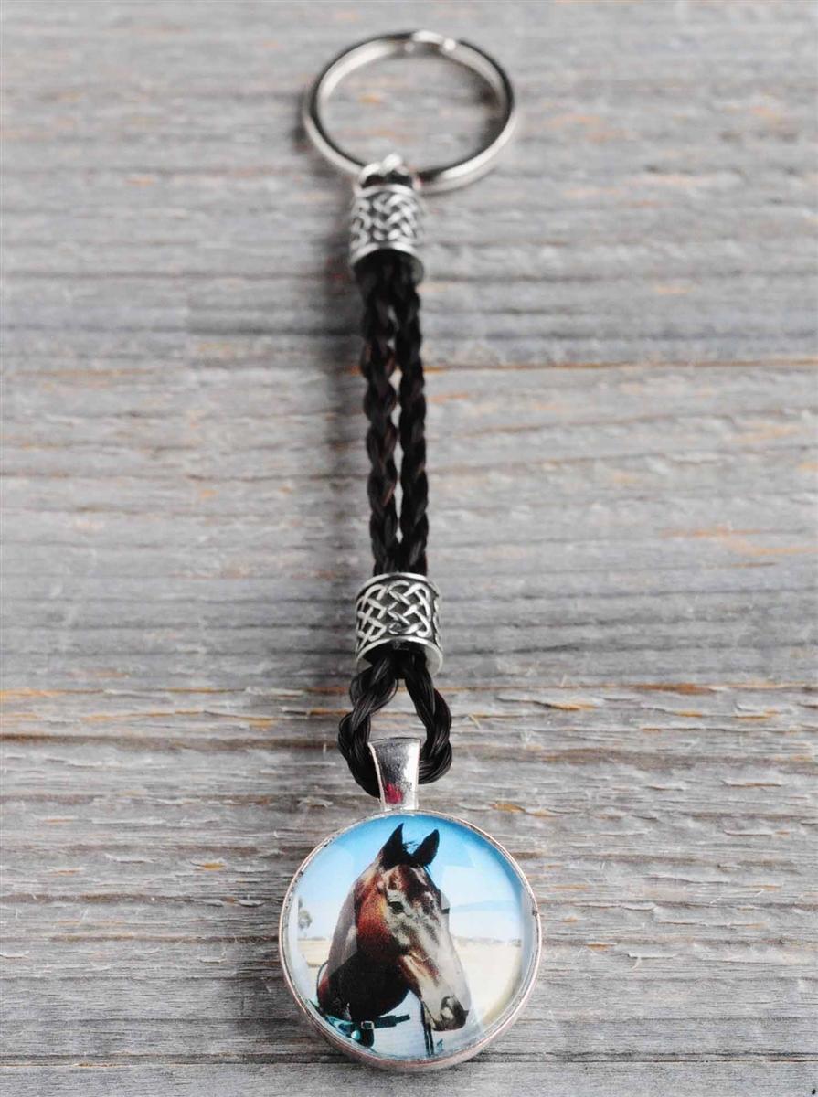 Spirithorse Designs Kira Horse Hair Key Chain 16b713fef