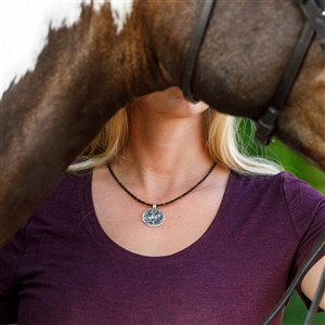 Spirithorse Designs Bonnie Horse Hair Necklace