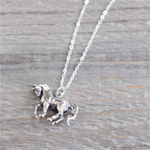 Dancing Horse Necklace by Spirithorse Designs